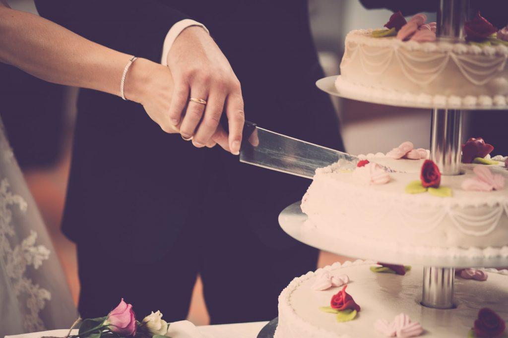 Bruilofts taart